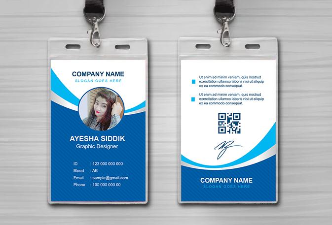 Standard ID Card Size